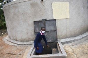 The Water Project: Petros Primary School -  Hellen At Water Point