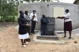 The Water Project: Petros Primary School -  Handing Over