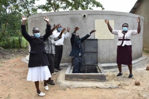 The Water Project: Petros Primary School -  Happy Staff