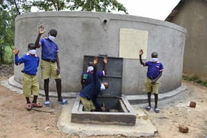 The Water Project: Petros Primary School -  It Works