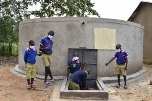 The Water Project: Petros Primary School -  Thumbs Up