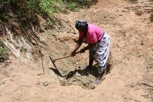 The Water Project: Kathamba ngii Community C -  Digging At Construction Site