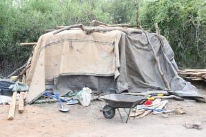 The Water Project: Kathamba ngii Community C -  Construction Materials