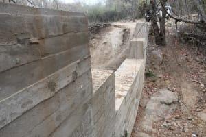 The Water Project: Kathamba ngii Community B -  Complete Sand Dam