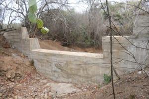 The Water Project: Kathamba ngii Community B -  Complete Dam