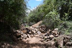 The Water Project: Kathamba ngii Community C -  Gathered Rocks