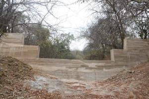 The Water Project: Kathamba ngii Community B -  Sand Dam From Below