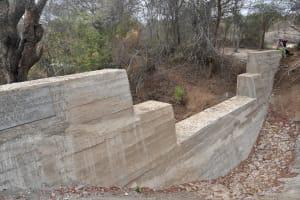 The Water Project: Kathamba ngii Community B -  Sand Dam From Left