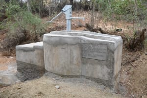 The Water Project: Kathamba ngii Community C -  Complete Shallow Well