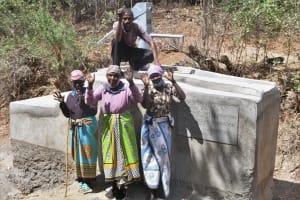 The Water Project: Kathamba ngii Community C -  Celebrating The Well