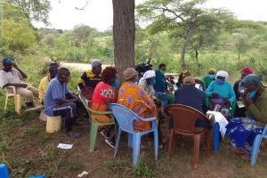 The Water Project: Kitile B Village Well -  Listening