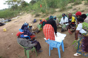The Water Project: Kitile B Village Well -  Planning