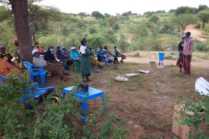 The Water Project: Kitile B Village Well -  Training