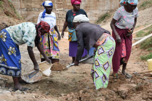 The Water Project: Kitile B Village Sand Dam -  Working Together