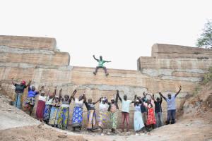 The Water Project: Kitile B Village Sand Dam -  Celebrating