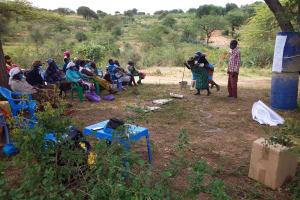 The Water Project: Kitile B Village Sand Dam -  Participants