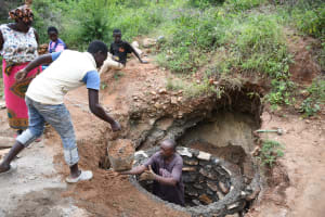 The Water Project: Kitile B Village Well -  Here Ya Go