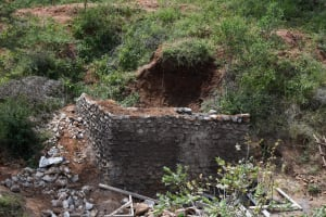 The Water Project: Kitile B Village Well -  Progress