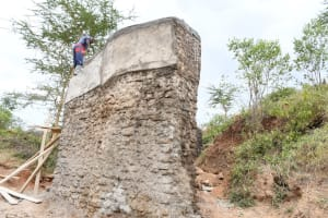 The Water Project: Kitile B Village Well -  So Tall