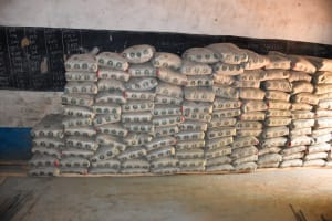 The Water Project: Mbiuni Primary School -  A Lotta Cement