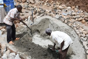 The Water Project: Mbiuni Primary School -  Hard Work