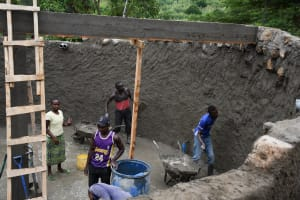 The Water Project: Mbiuni Primary School -  Humans For Scale
