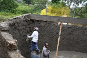 The Water Project: Mbiuni Primary School -  In Progress