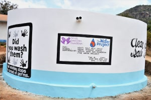 The Water Project: Mbiuni Primary School -  Another Angle