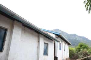 The Water Project: Mbiuni Primary School -  Complete Gutters