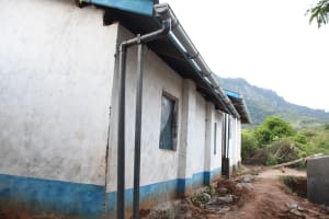 The Water Project: Mbiuni Primary School -  Ready To Catch Rain