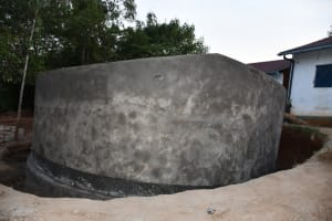 The Water Project: Mbiuni Primary School -  Before Paint