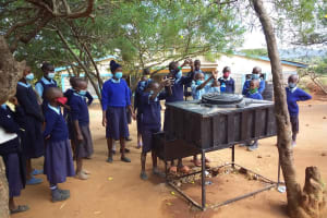 The Water Project: Mbiuni Primary School -  Handwashing Lesson