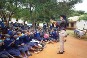 The Water Project: Mbiuni Primary School -  In Between Fingers