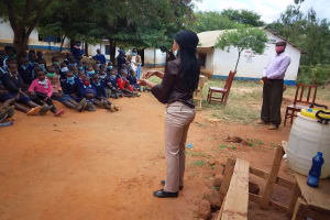 The Water Project: Mbiuni Primary School -  Listening