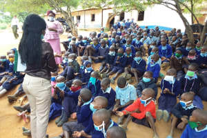 The Water Project: Mbiuni Primary School -  Mostly Attentive