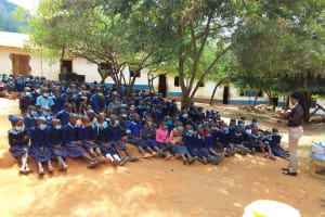 The Water Project: Mbiuni Primary School -  Participants