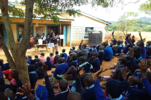 The Water Project: Mbiuni Primary School -  Pick Me