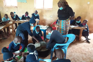 The Water Project: Mbiuni Primary School -  Soap Making