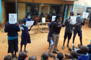 The Water Project: Mbiuni Primary School -  Visual Aids