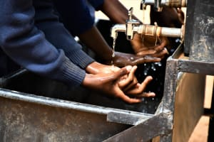 The Water Project: Mbiuni Primary School -  Clean Hands