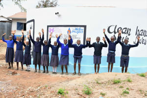 The Water Project: Mbiuni Primary School -  Hooray