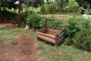 The Water Project: Mungakha Community, Mwilima Spring -  Animal Trough