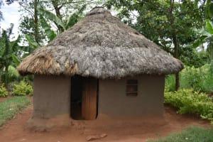 The Water Project: Mungakha Community, Mwilima Spring -  Outside Kitchen
