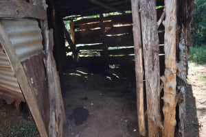 The Water Project: Muhoni Community, Kekongo Forest Spring -  Animal Pen