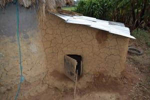 The Water Project: Chombeli Community, Ernest Kuta Spring -  Dog Kennel