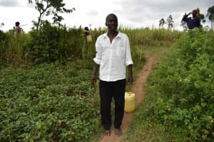 The Water Project: Chombeli Community, Ernest Kuta Spring -  Ernest Kuta