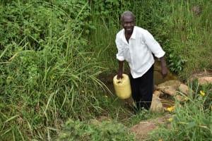The Water Project: Chombeli Community, Ernest Kuta Spring -  Ernest Kuta At Water