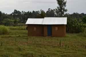 The Water Project: Chombeli Community, Ernest Kuta Spring -  Homestead