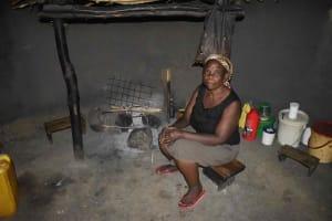 The Water Project: Chombeli Community, Ernest Kuta Spring -  Inside Ernest Kitchen