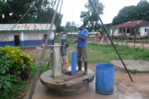 The Water Project: Shepherd Foundation, New Apostolic Church and Primary School -  Bailing